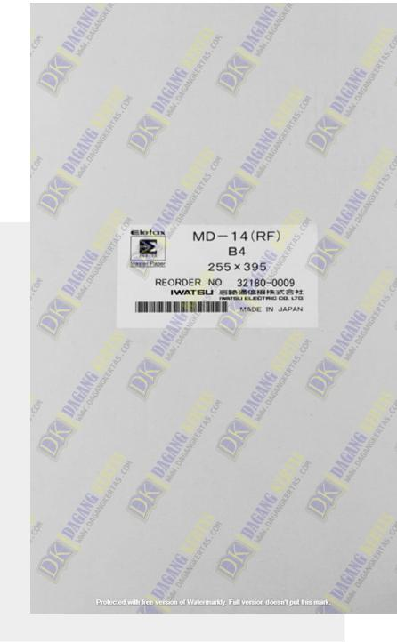 kertas master paper MASTER-ELEFAX MD 14
